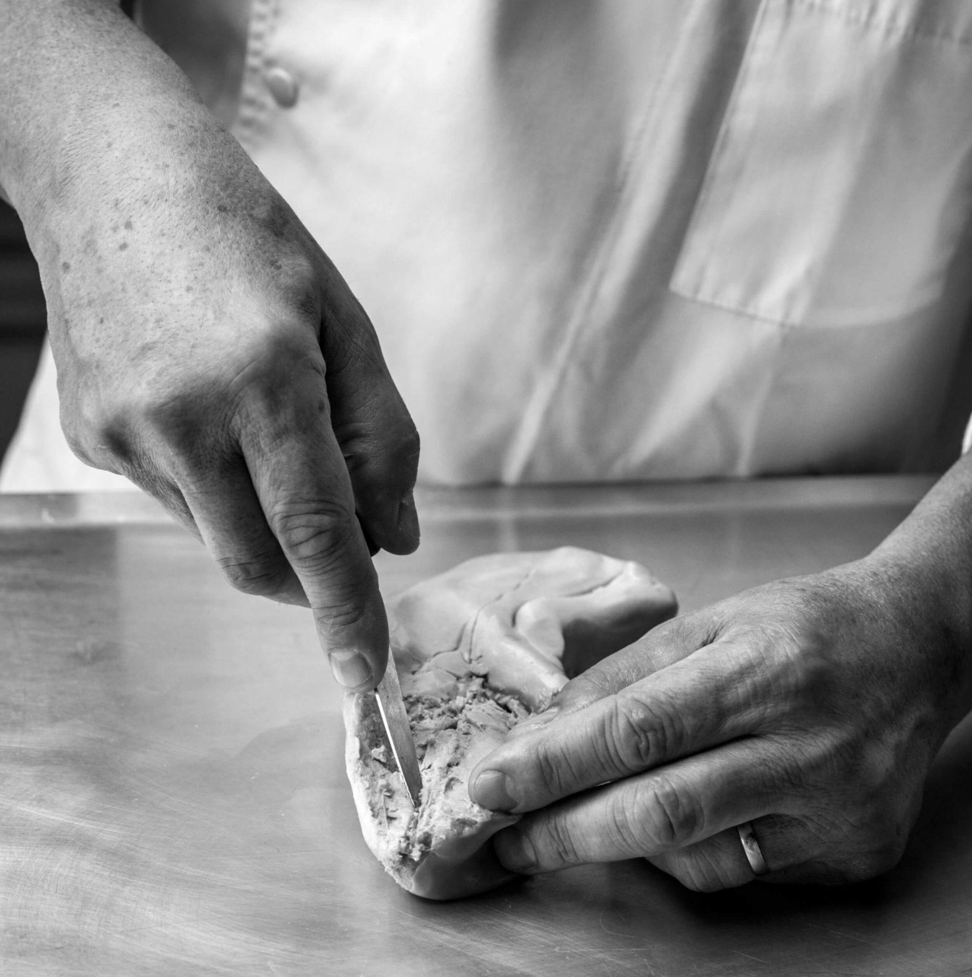 Foie Gras lobe éveinage techniques cuisine Rougié